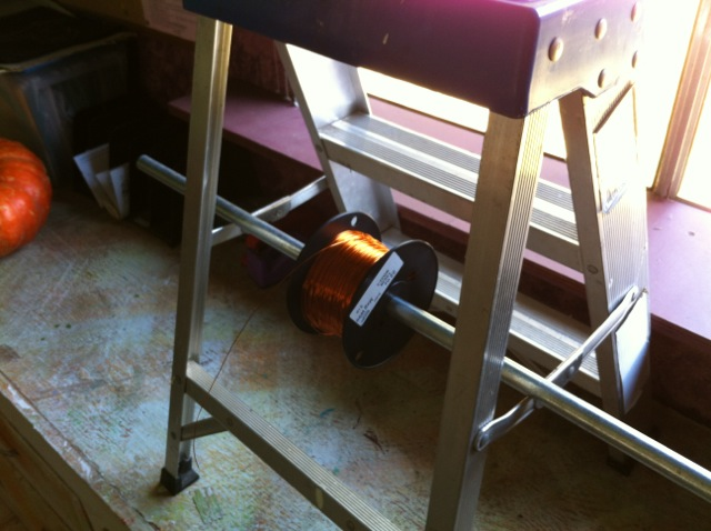 Tesla Coil Quick and Easy Wire Caddy